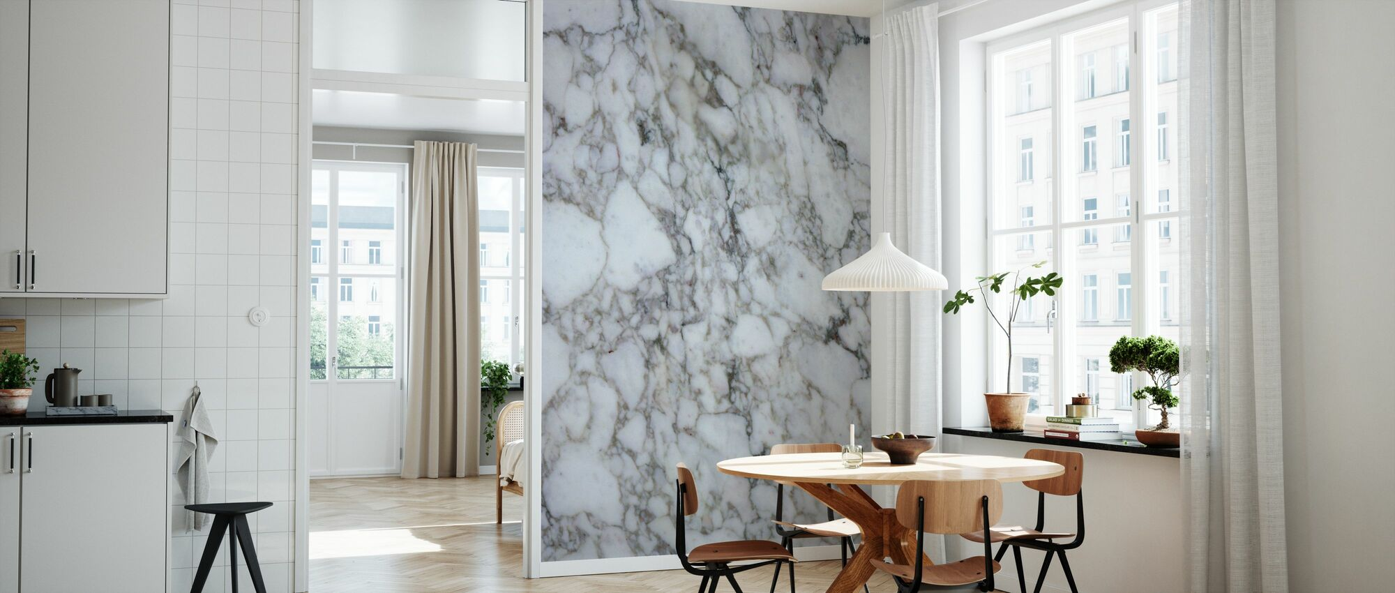 Marble Close Up 2 - Wallpaper - Kitchen