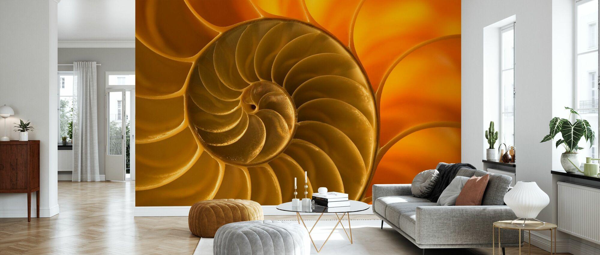 Nautilus Shell - Wallpaper - Living Room