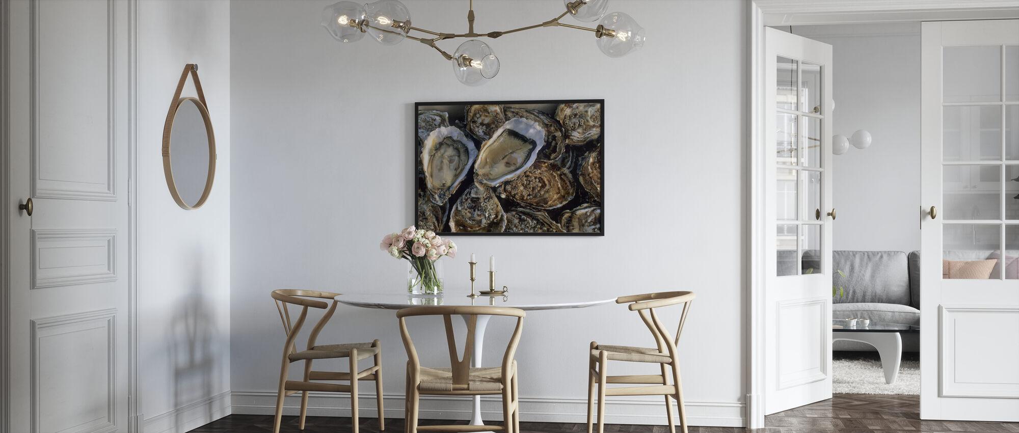 Austern - Poster - Küchen