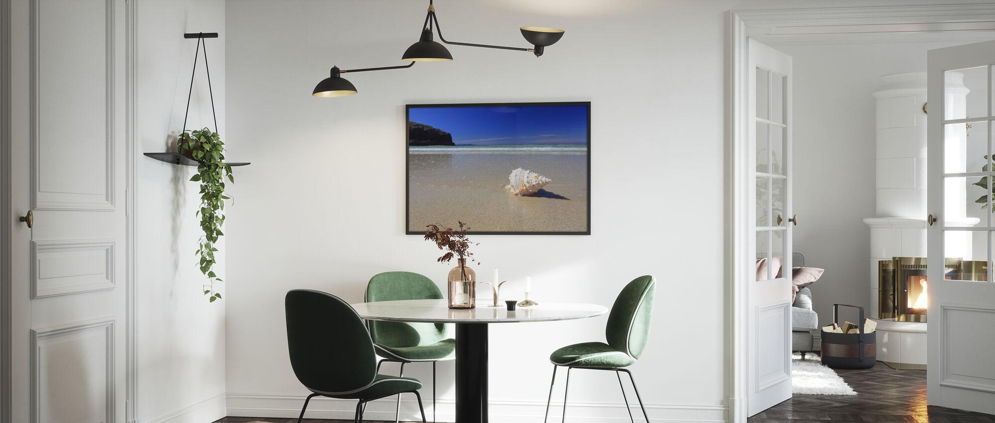 Shell on Beach - Framed print - Kitchen