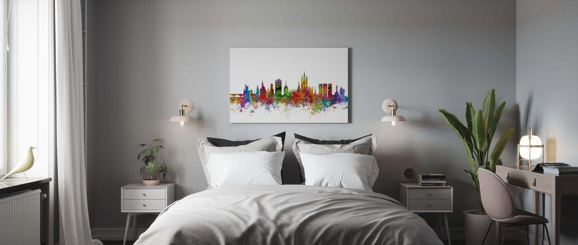 Aberdeen Scotland Skyline - Canvas print - Bedroom