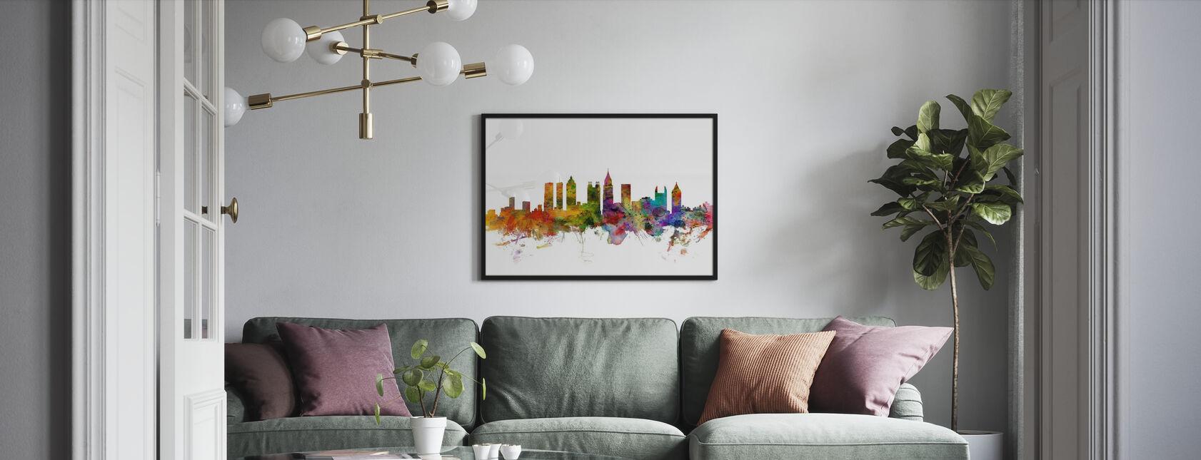 Atlanta Georgia Skyline - Plakat - Stue