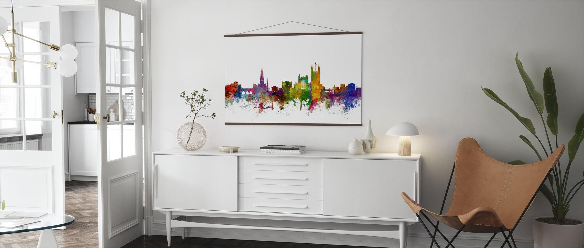 Bath England Skyline - Poster - Living Room