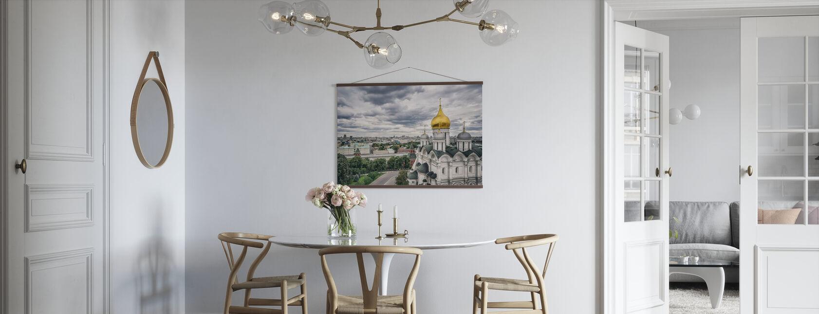 Grå himmel over Kreml - Plakat - Kjøkken
