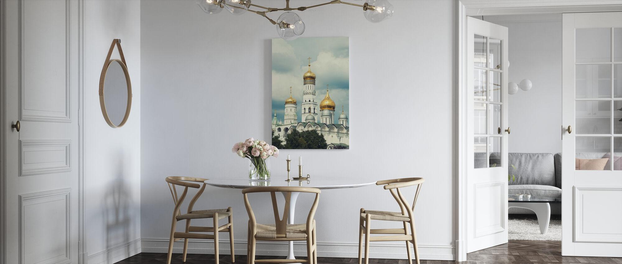 Iivana suuri kellotorni Moskovassa - Canvastaulu - Keittiö