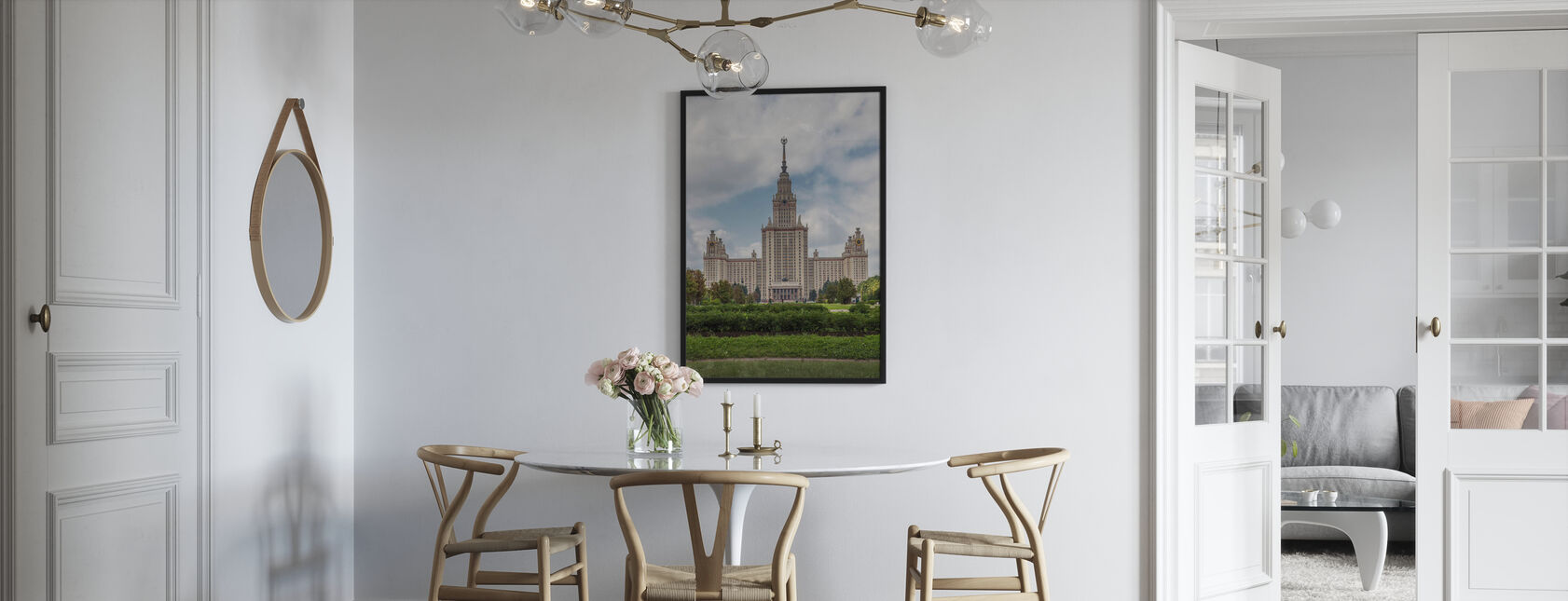 Lomonosov Moscow State University - Framed print - Kitchen