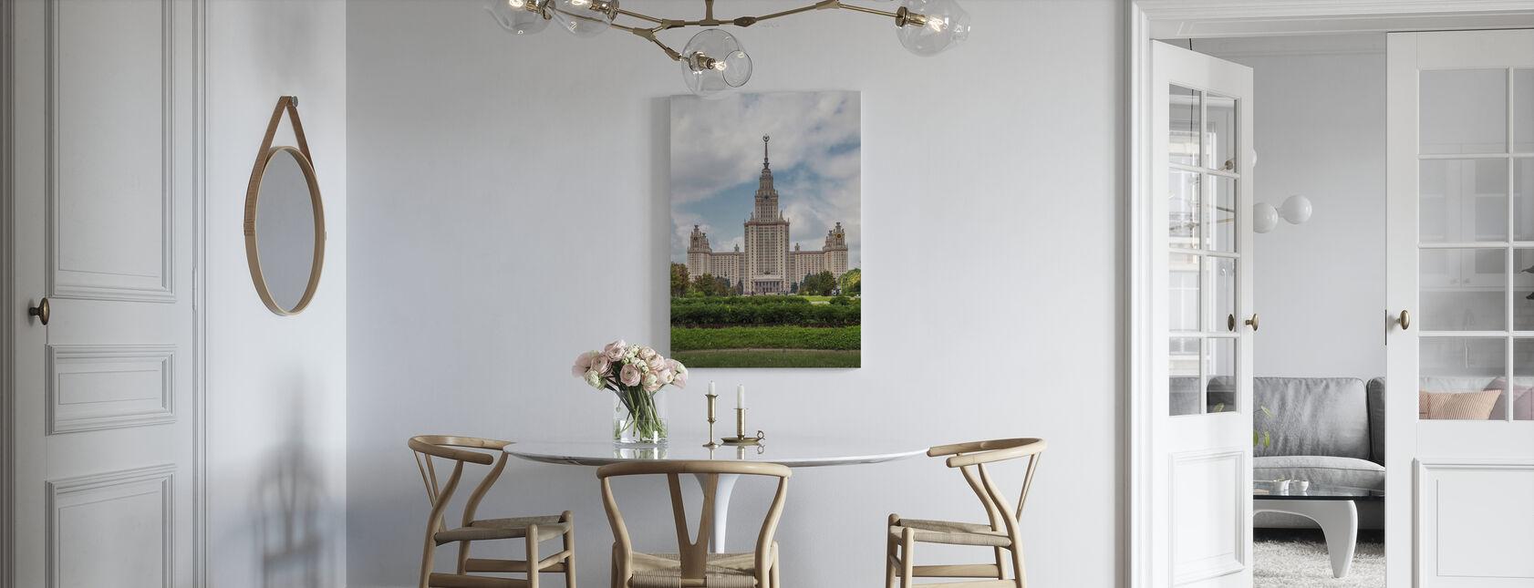 Lomonosov Moscow State University - Canvas print - Kitchen