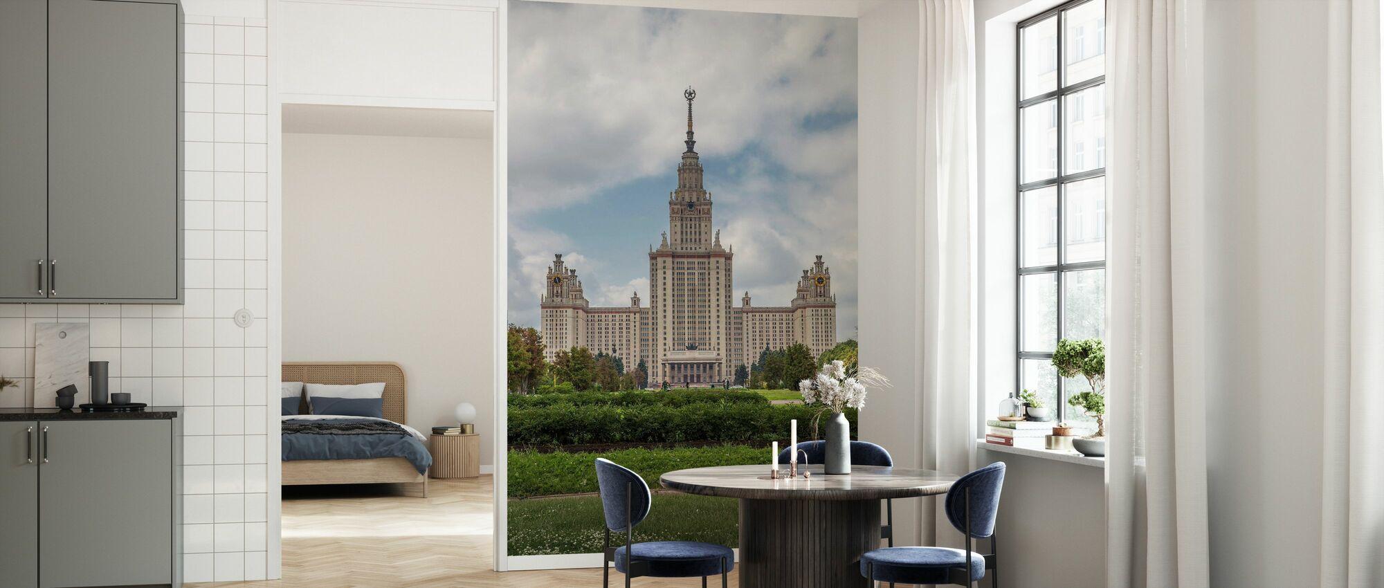 Lomonosov Moscow State University - Wallpaper - Kitchen