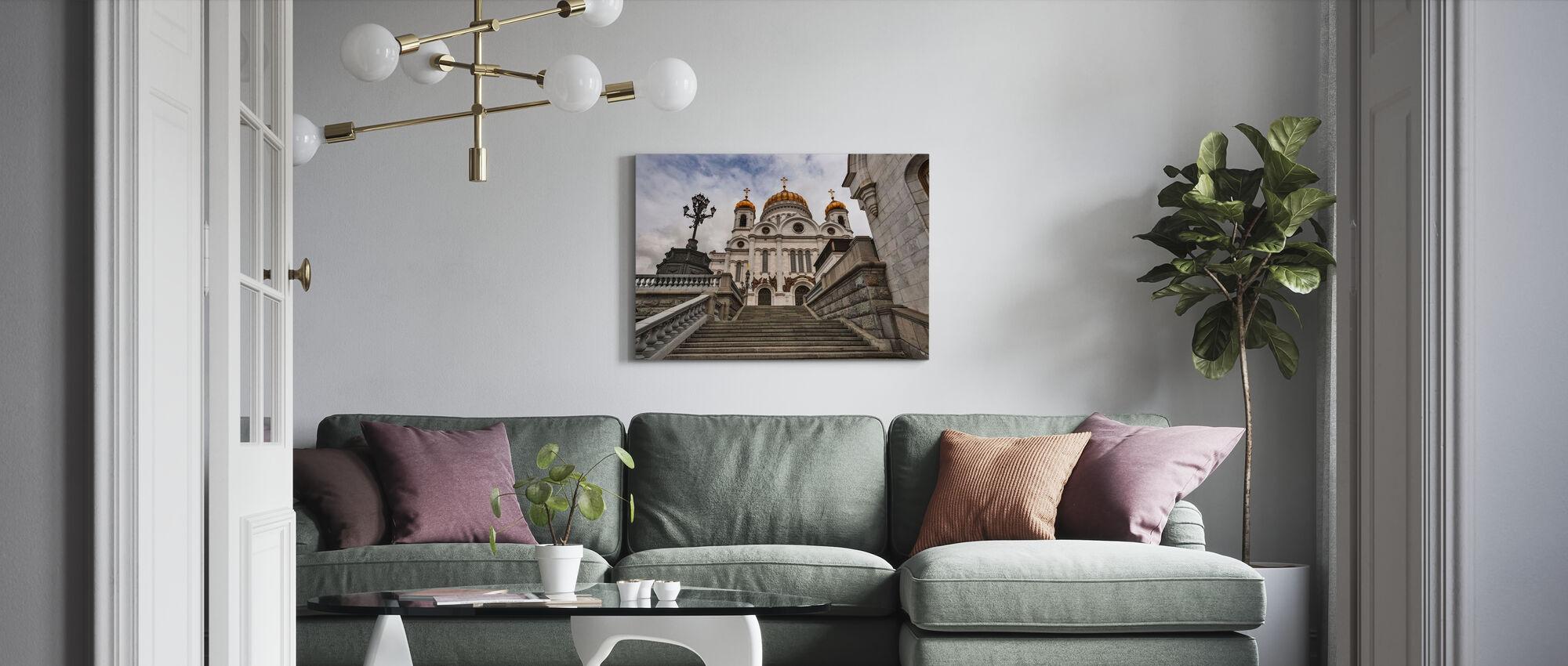Foran Kristi katedral Frelseren - Lerretsbilde - Stue