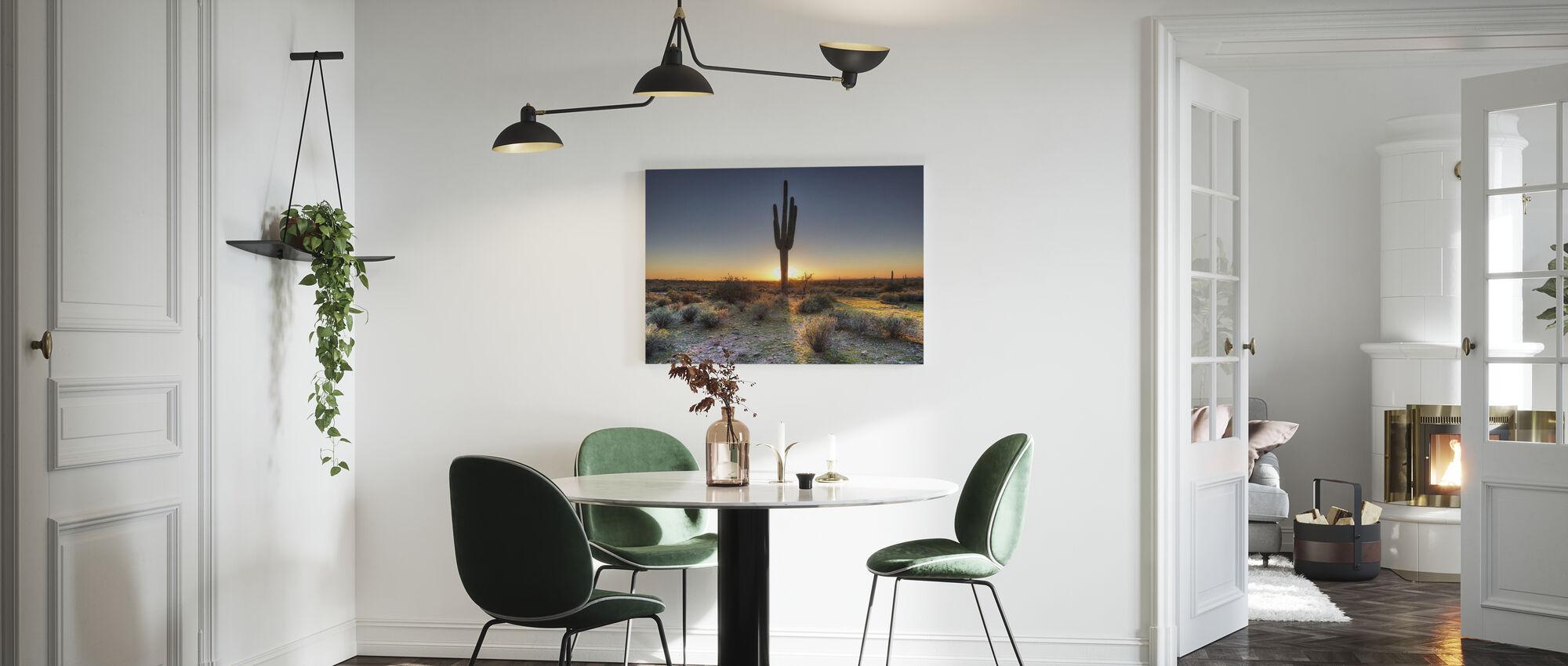 Desert Sunset - Canvas print - Kitchen