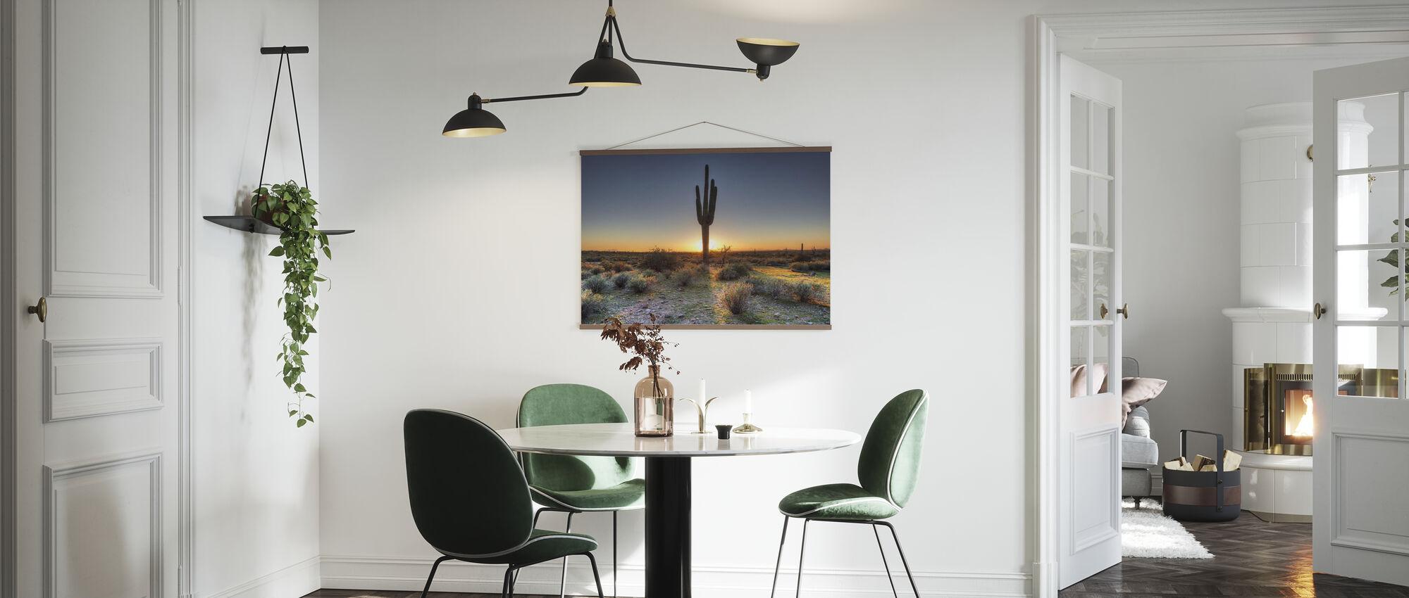 Wüstensonnenuntergang - Poster - Küchen