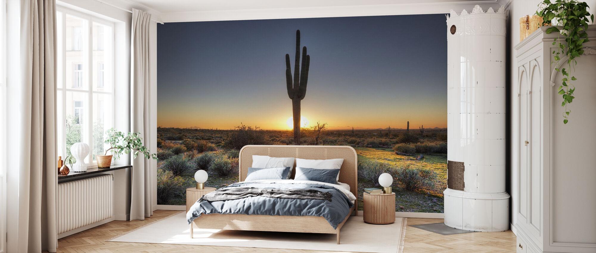 Desert Sunset - Wallpaper - Bedroom