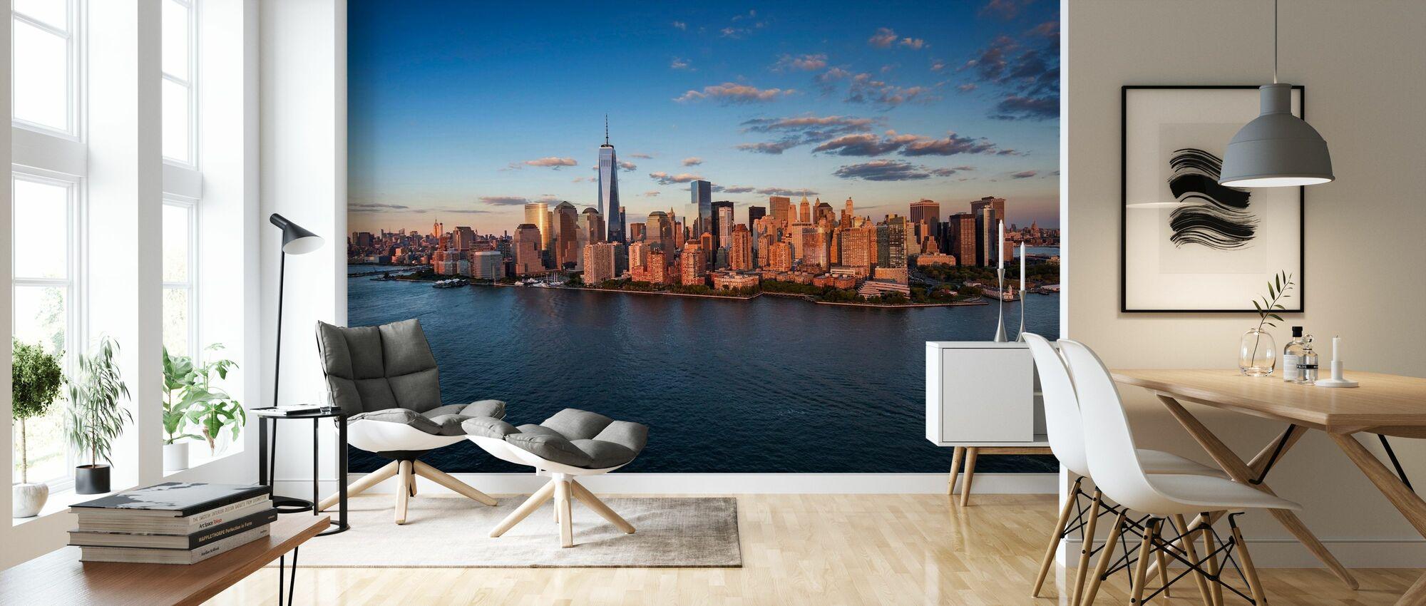 Freedom Tower - New York - Wallpaper - Living Room
