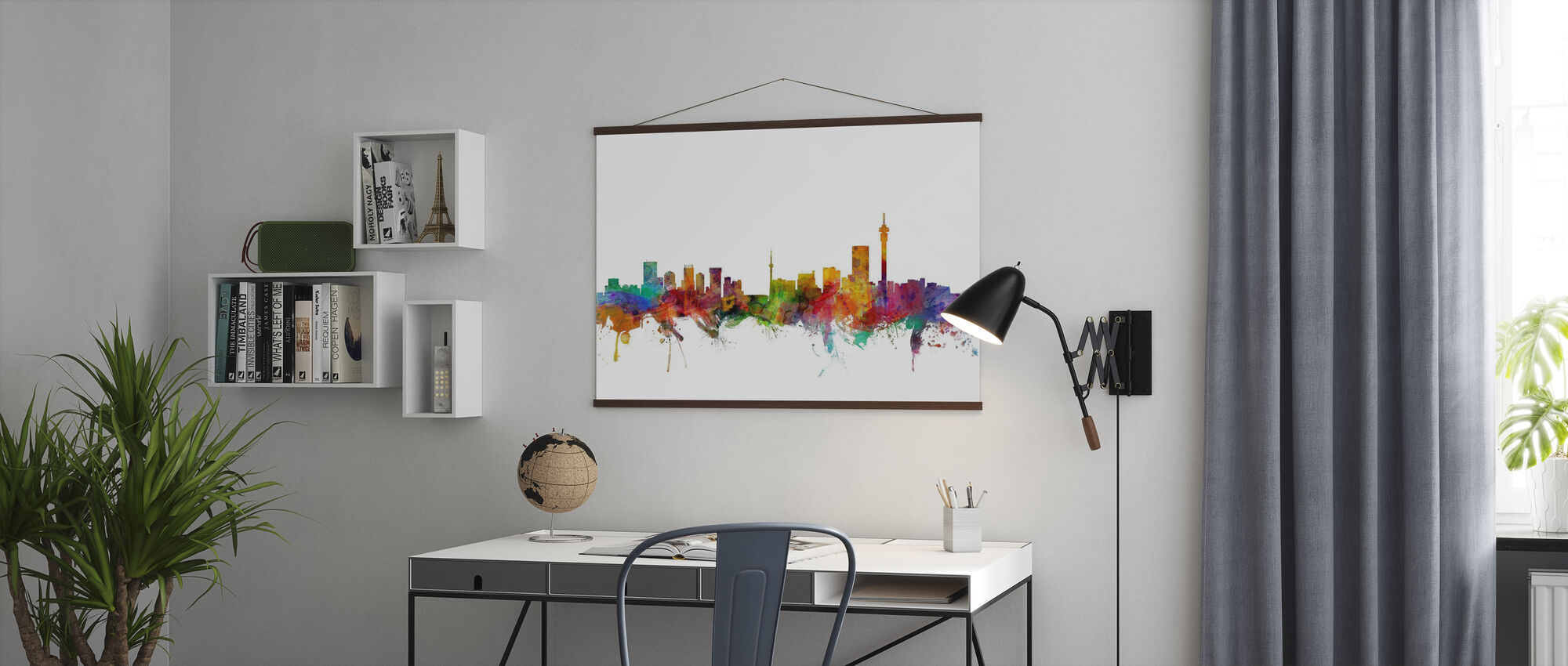 Johannesburg South Africa Skyline - Poster - Office