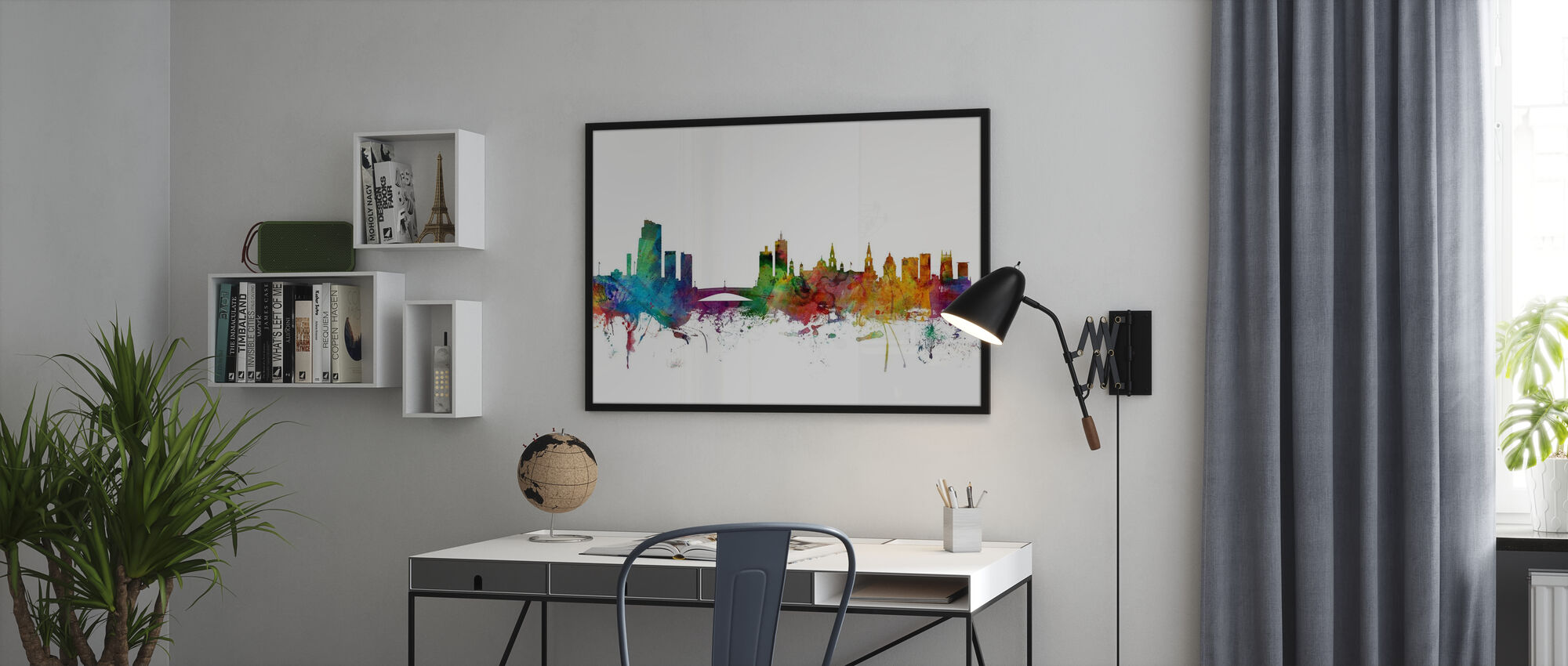 Leeds England Skyline - Poster - Office
