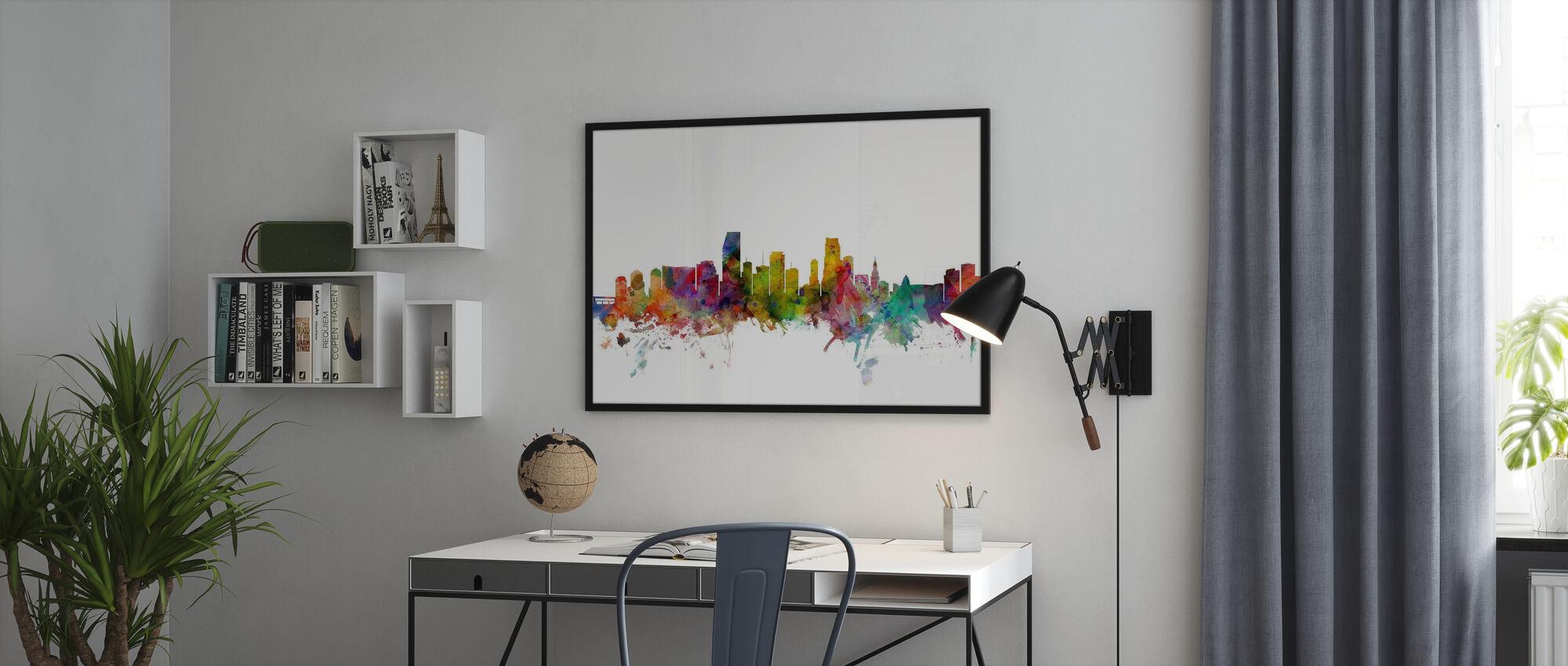 Miami Florida Skyline - Poster - Kontor