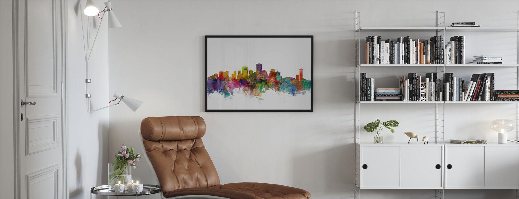 New Orleans Louisiana Skyline - Plakat - Stue