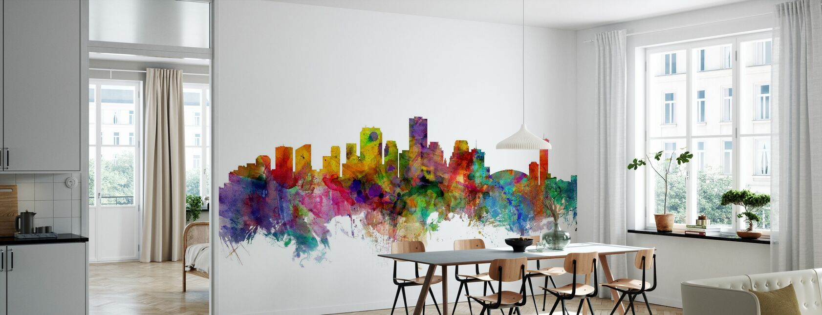New Orleans Louisiana Skyline - Behang - Keuken