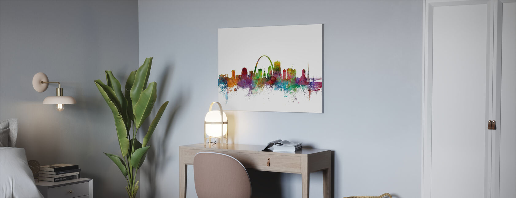 St Louis Missouri Skyline - Canvas print - Office