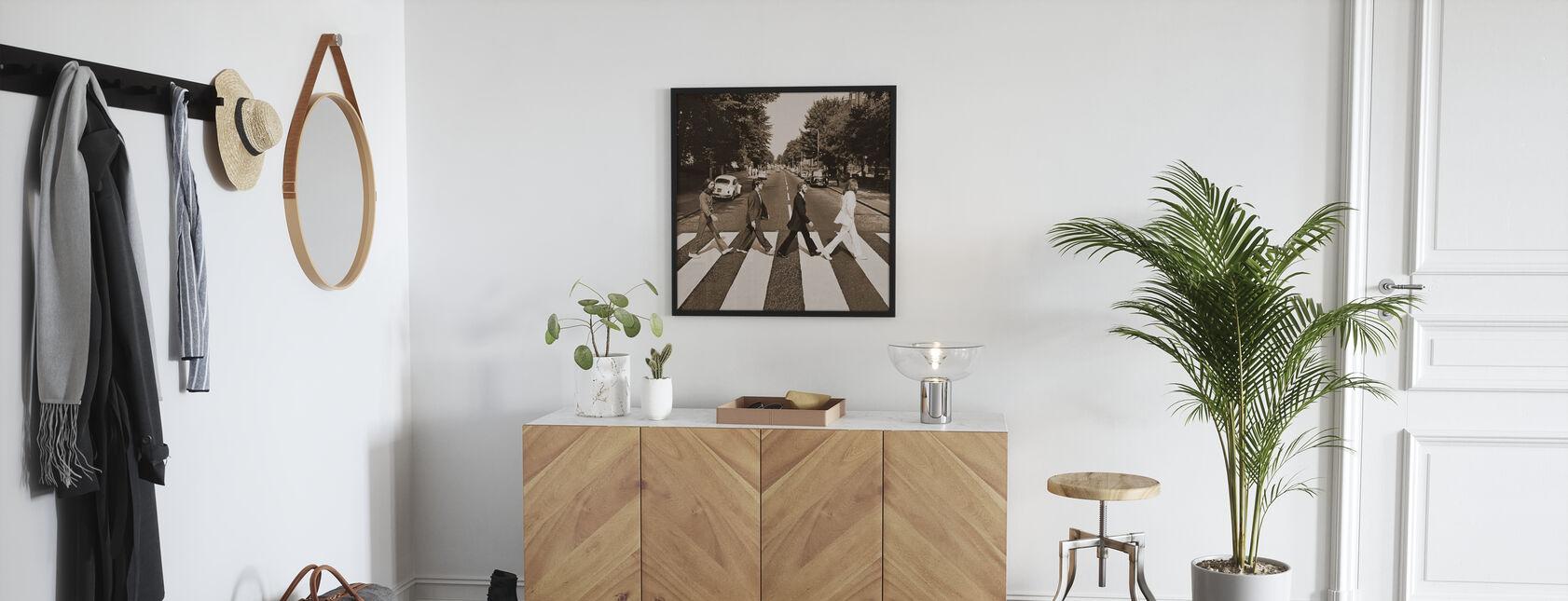 Beatles - Abbey Road Sepia - Plakat - Gang