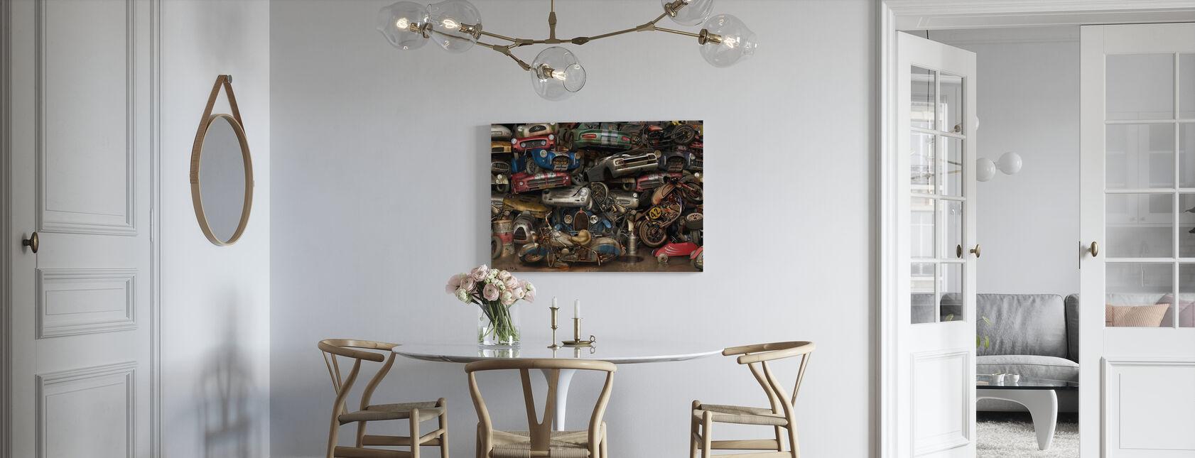 Recycling muur - Canvas print - Keuken