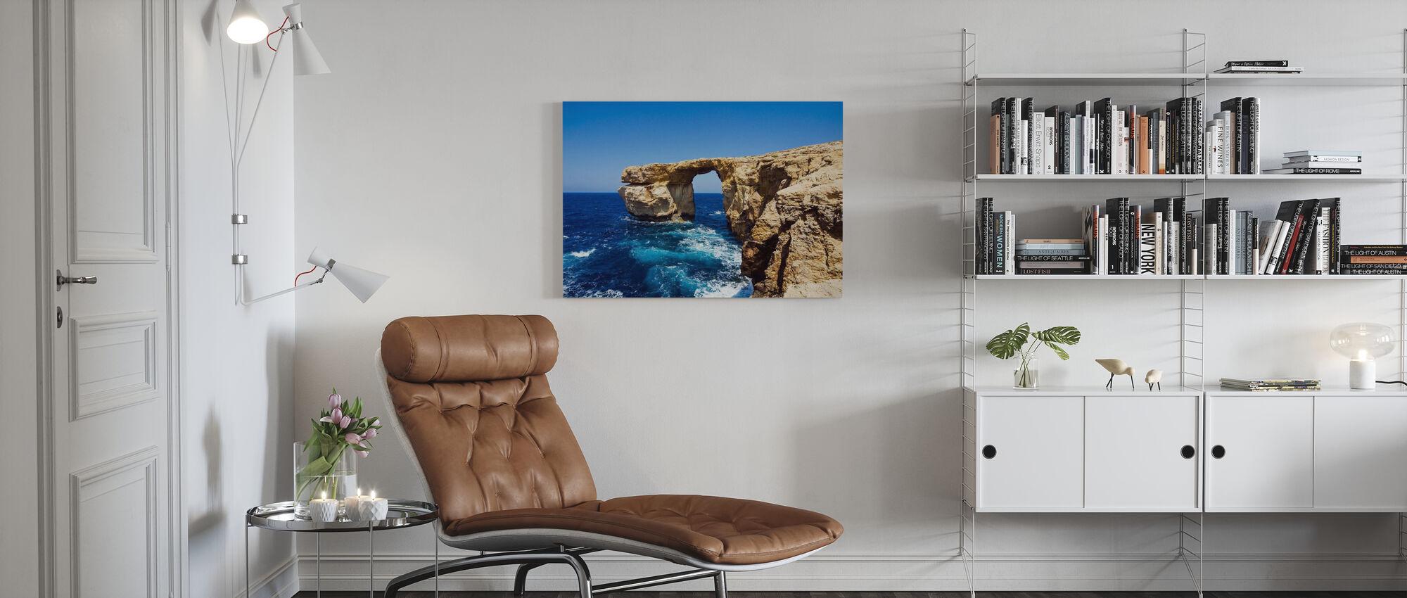 Azure-venster - Canvas print - Woonkamer