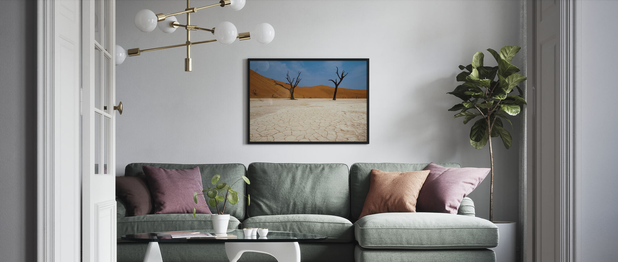 Deadvlei, Namibia - Poster - Living Room