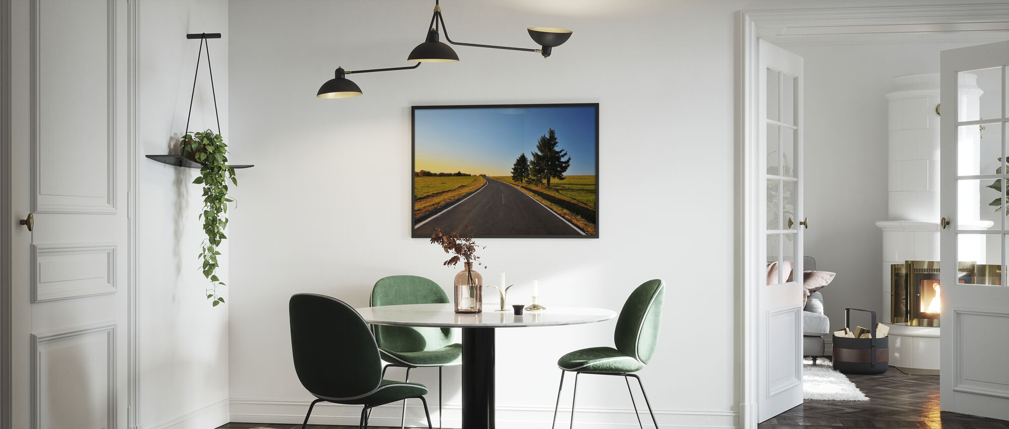Bavarian Country Road - Poster - Kitchen