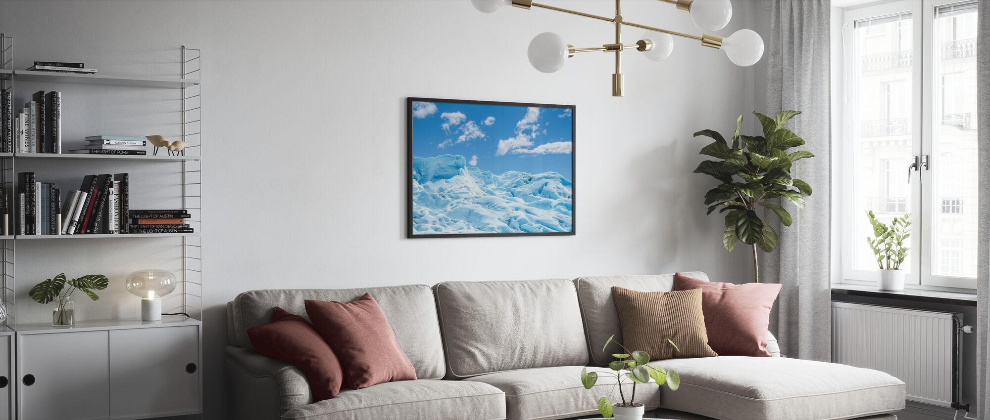 Frozen Ground - Framed print - Living Room