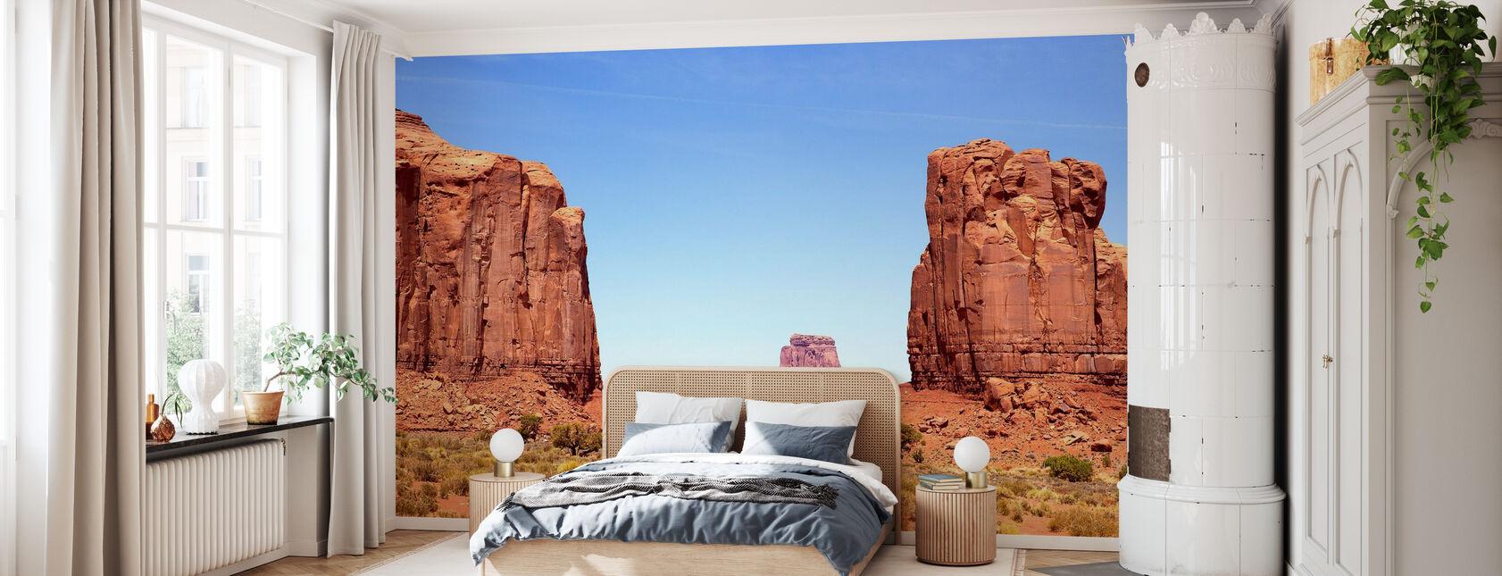 Nordfenster des Monument Valley - Tapete - Schlafzimmer