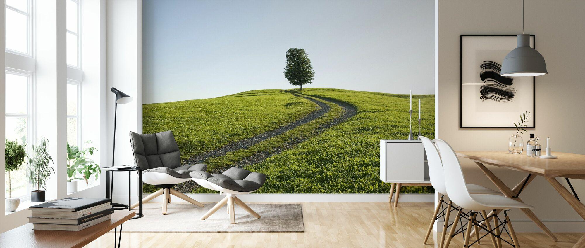 Old Farm Track - Wallpaper - Living Room