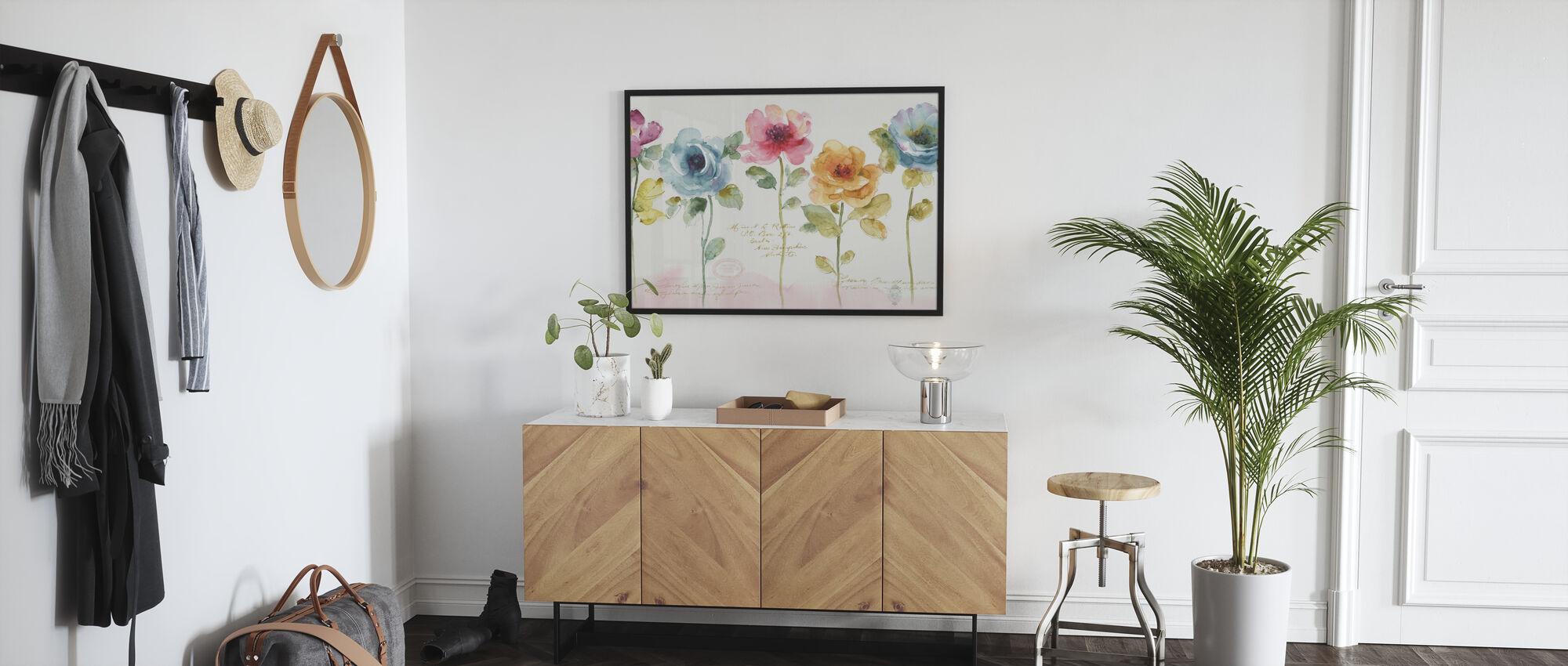 Rainbow Seeds Blumen - Poster - Flur