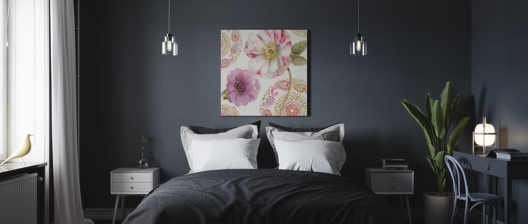Rainbow Seeds Paisley 1 - Canvas print - Bedroom