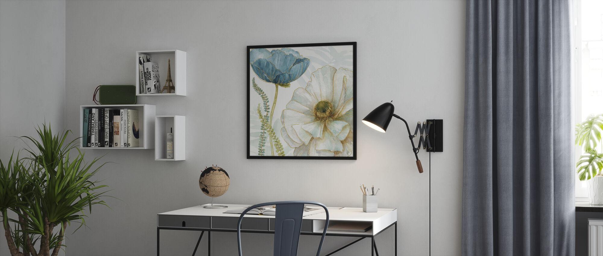 Witte Papaver - Poster - Kantoor