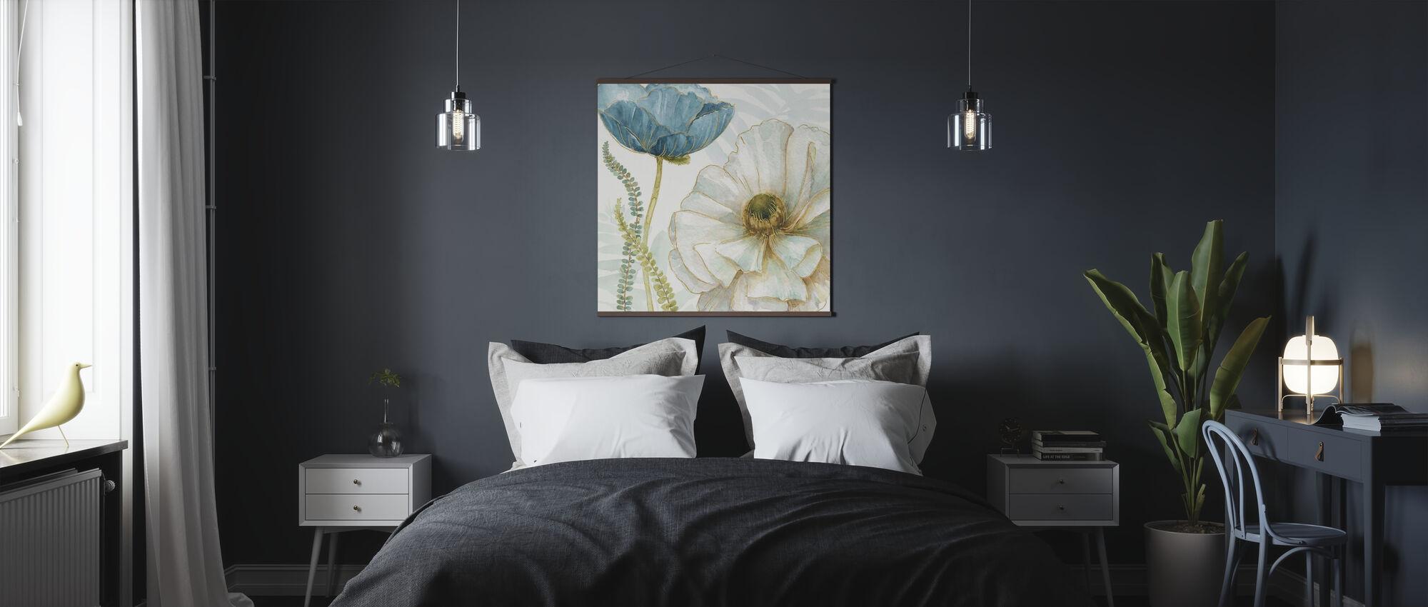 Witte Papaver - Poster - Slaapkamer