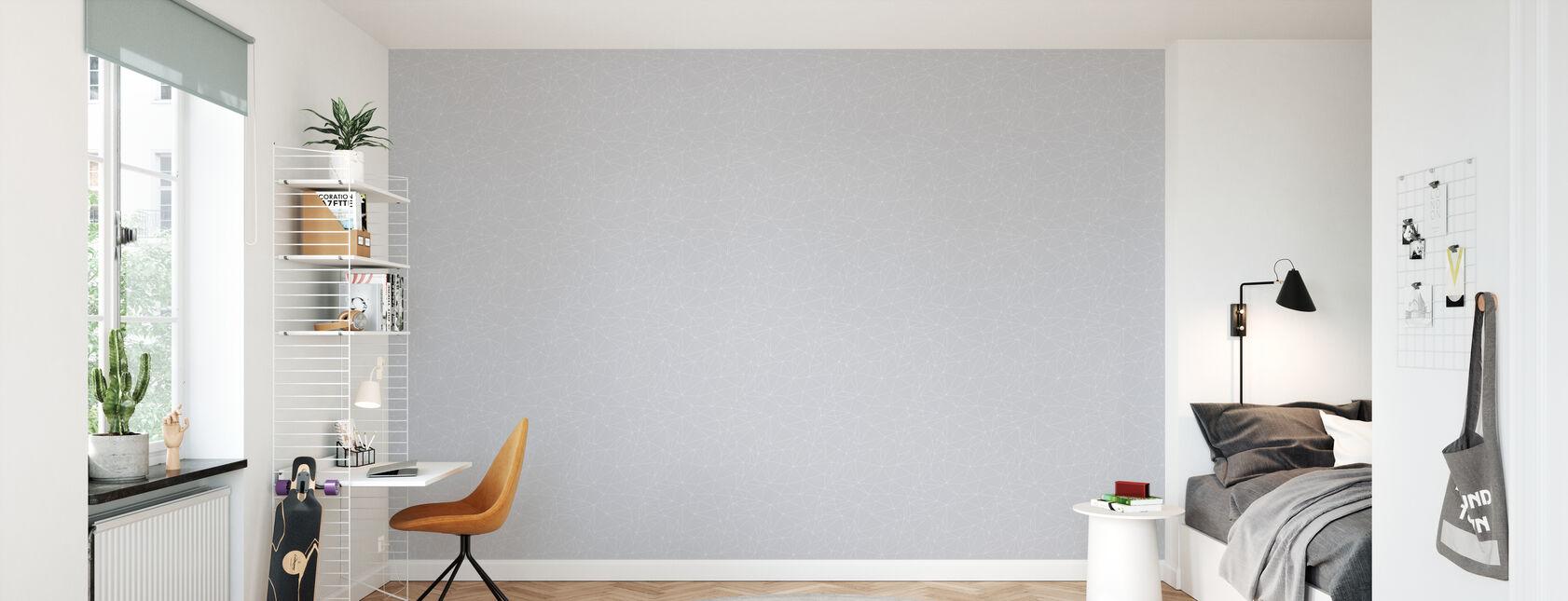 Grafo - Grey - Papier peint - Chambre des enfants