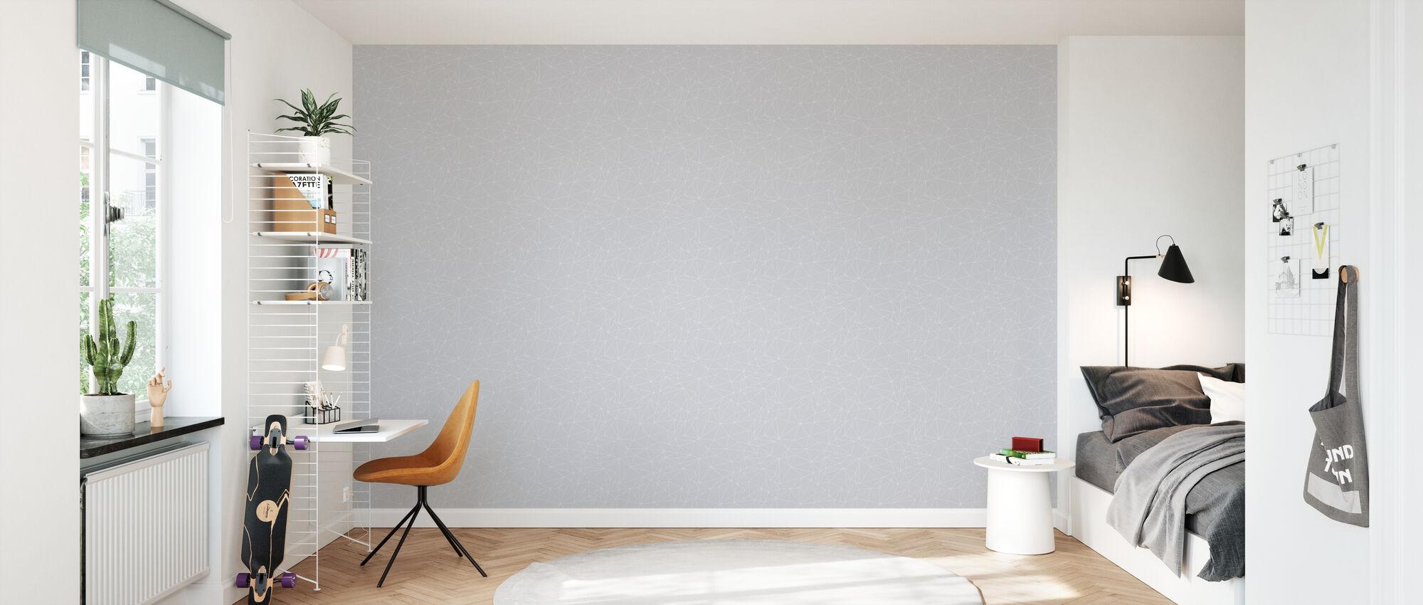 Grafo - Grey - Wallpaper - Kids Room