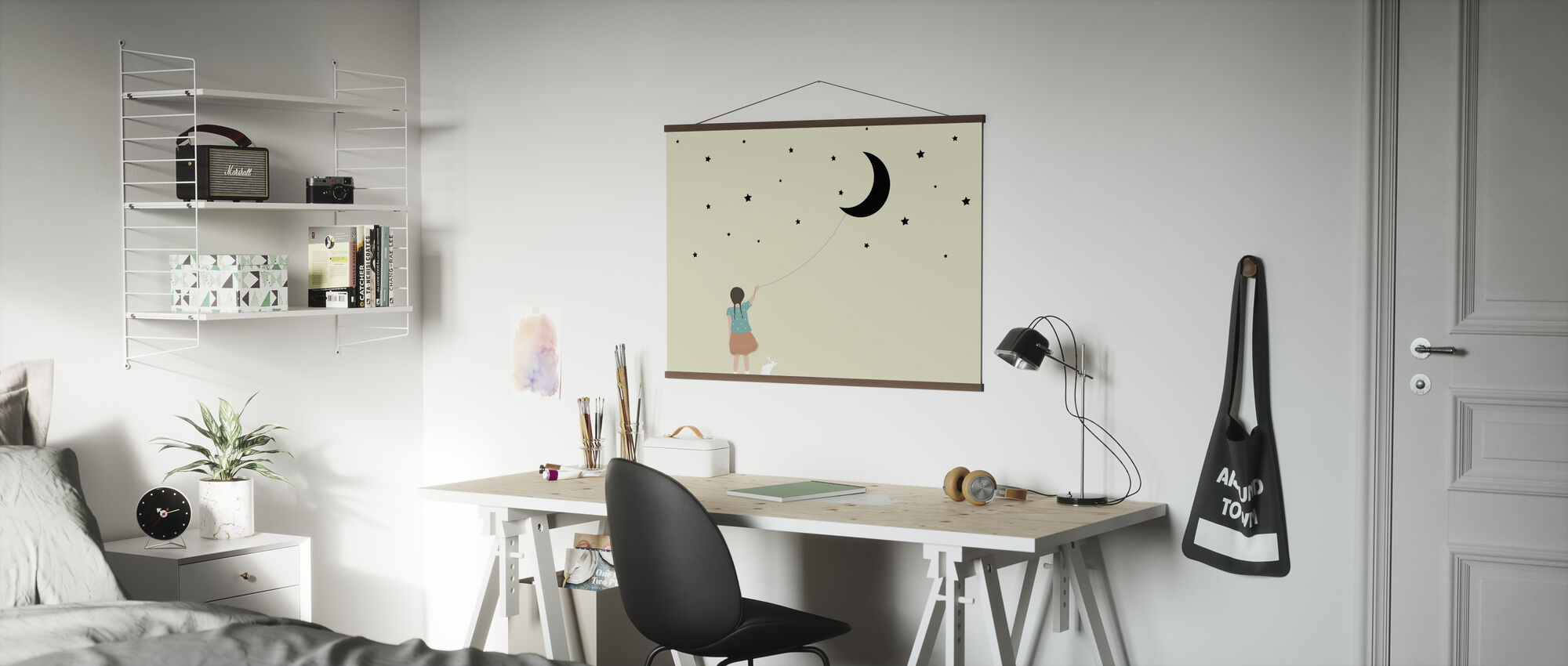 Stars and moon - Poster - Office