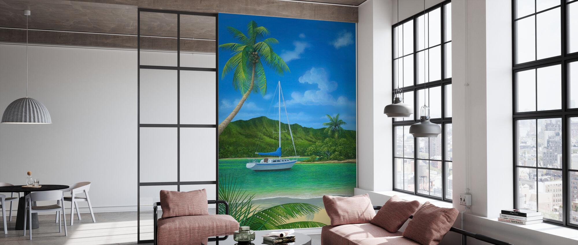Een plaats in het paradijs - Behang - Kantoor