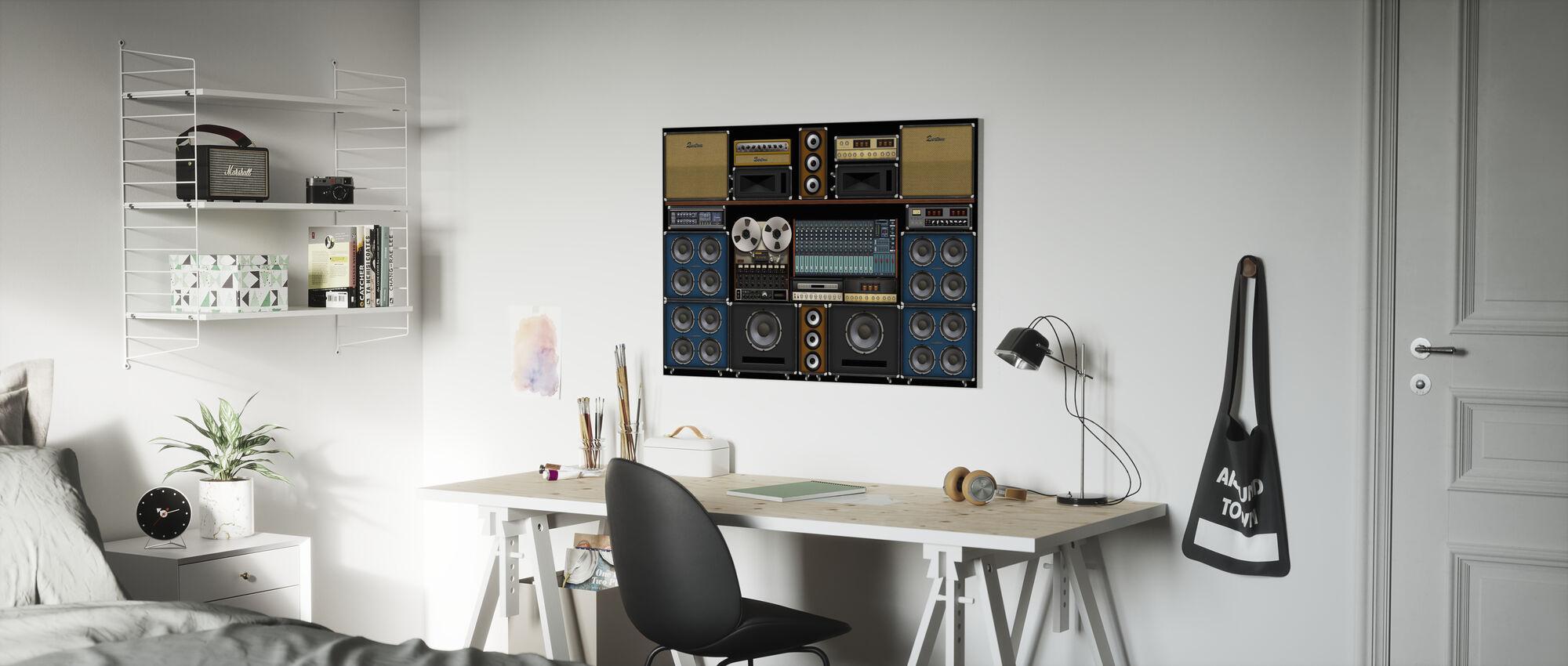 Studio Wall - Canvas print - Kids Room