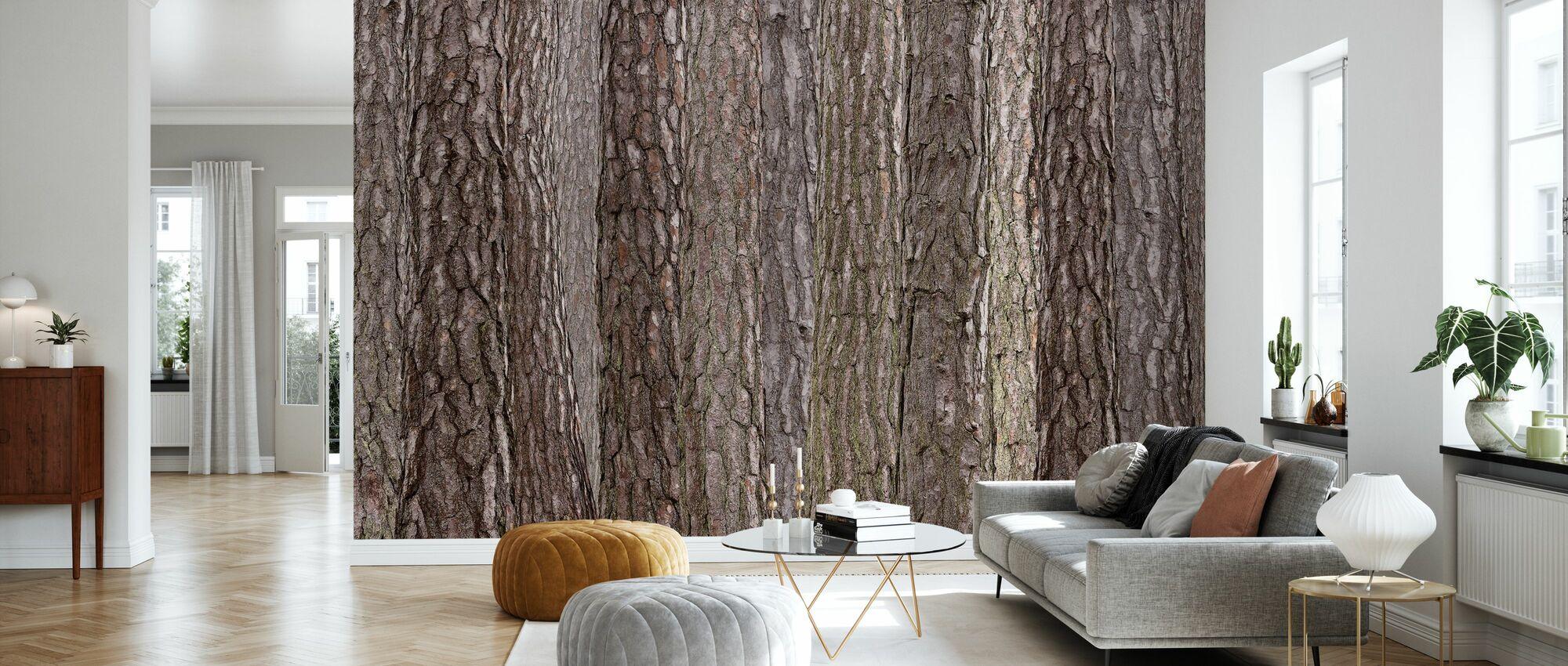 Park Brown - Wallpaper - Living Room