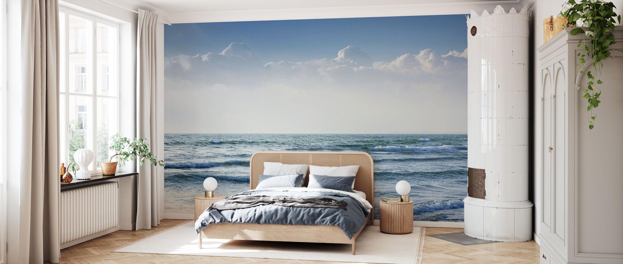 Havsvågor - Tapet - Sovrum