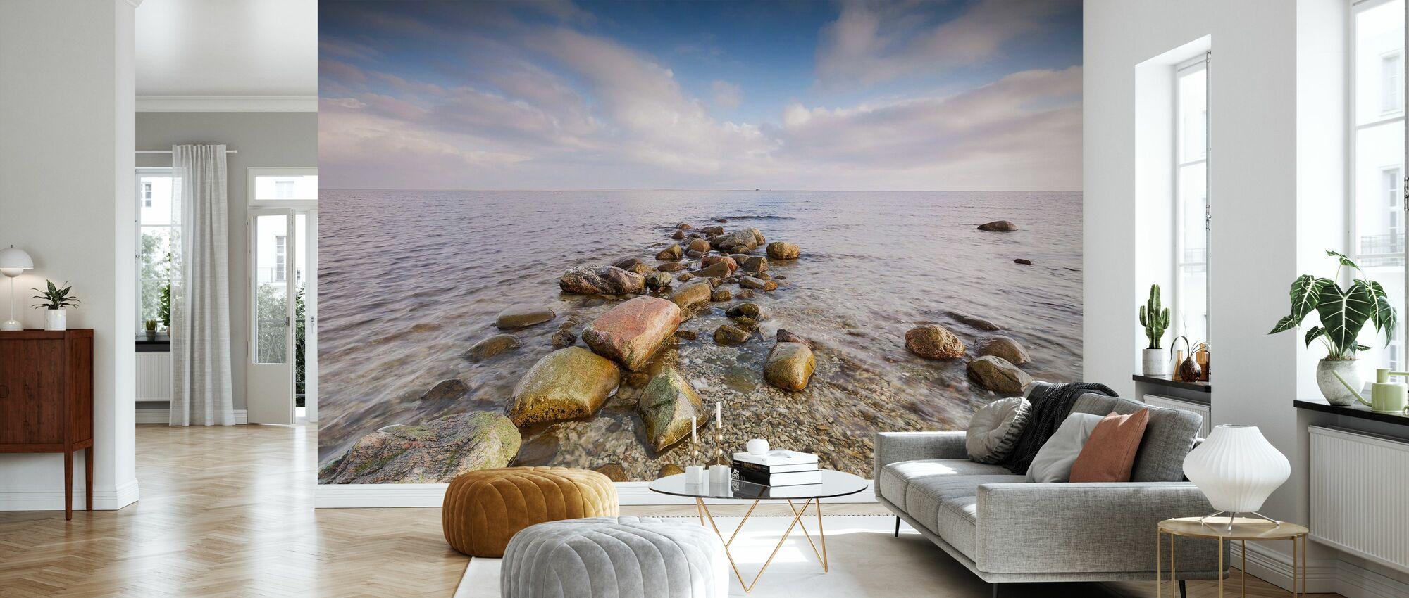 Kivet meressä - Tapetti - Olohuone