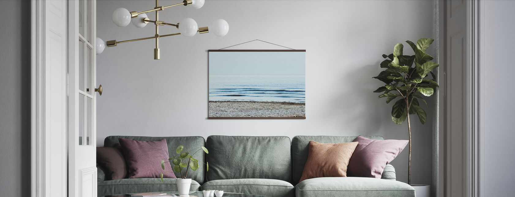 Strand - Poster - Wohnzimmer
