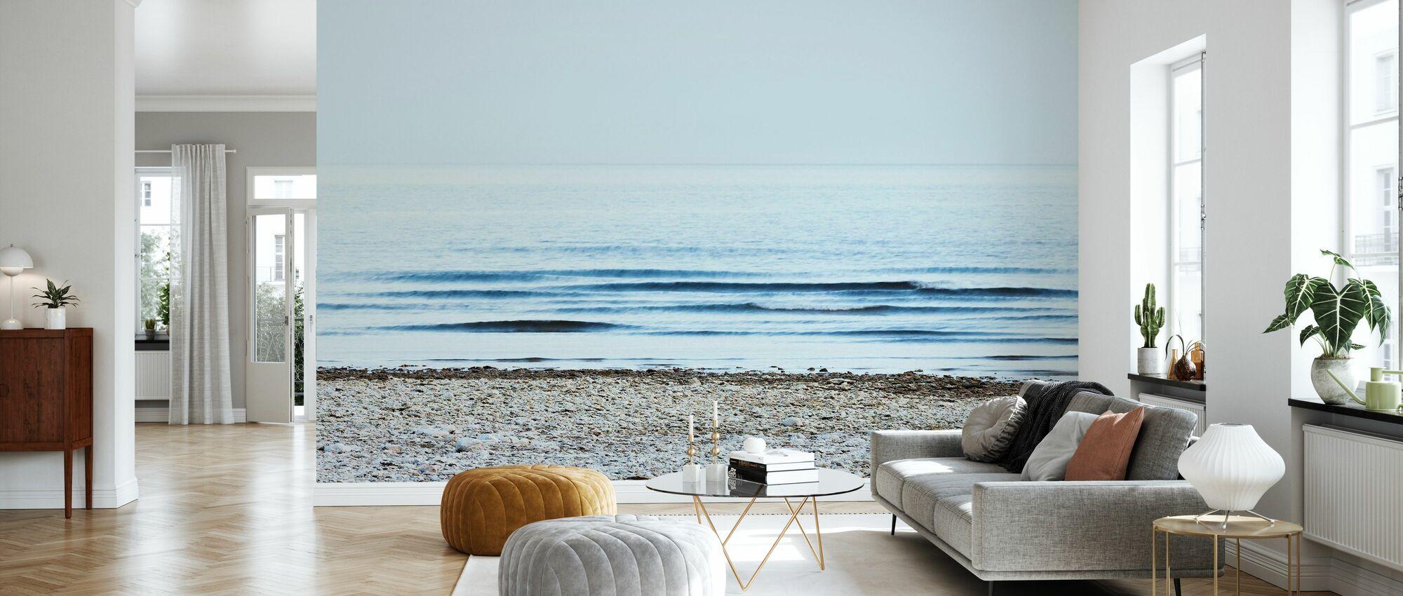 Strand - Tapet - Vardagsrum