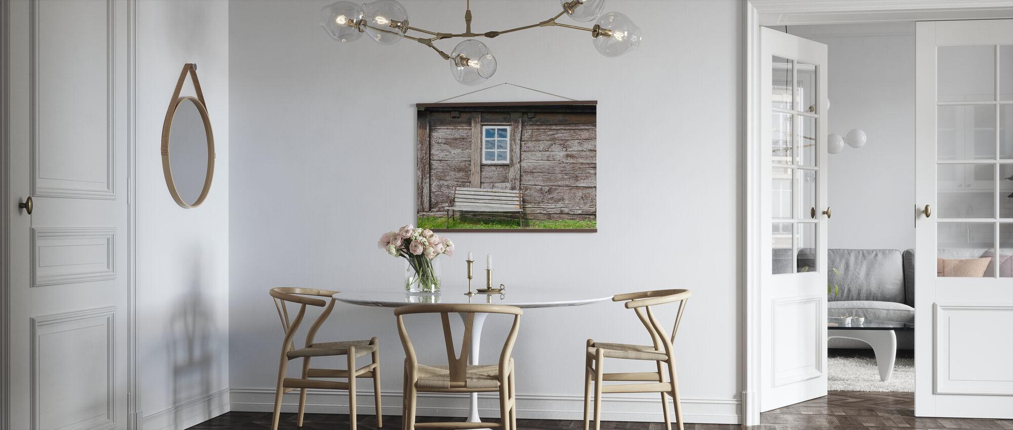 Hus Idyll - Plakat - Kjøkken