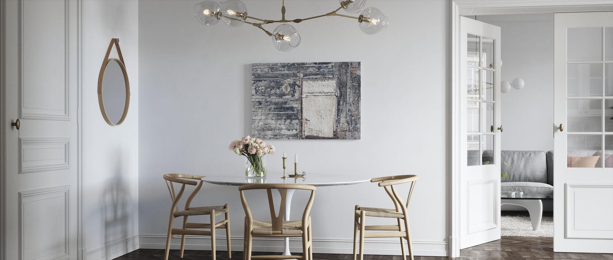 Iron Door - Canvas print - Kitchen