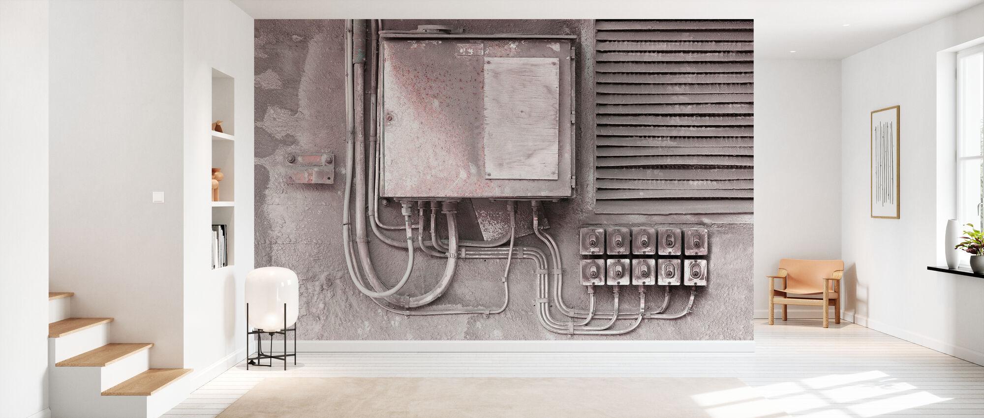 Old Technology - Wallpaper - Hallway