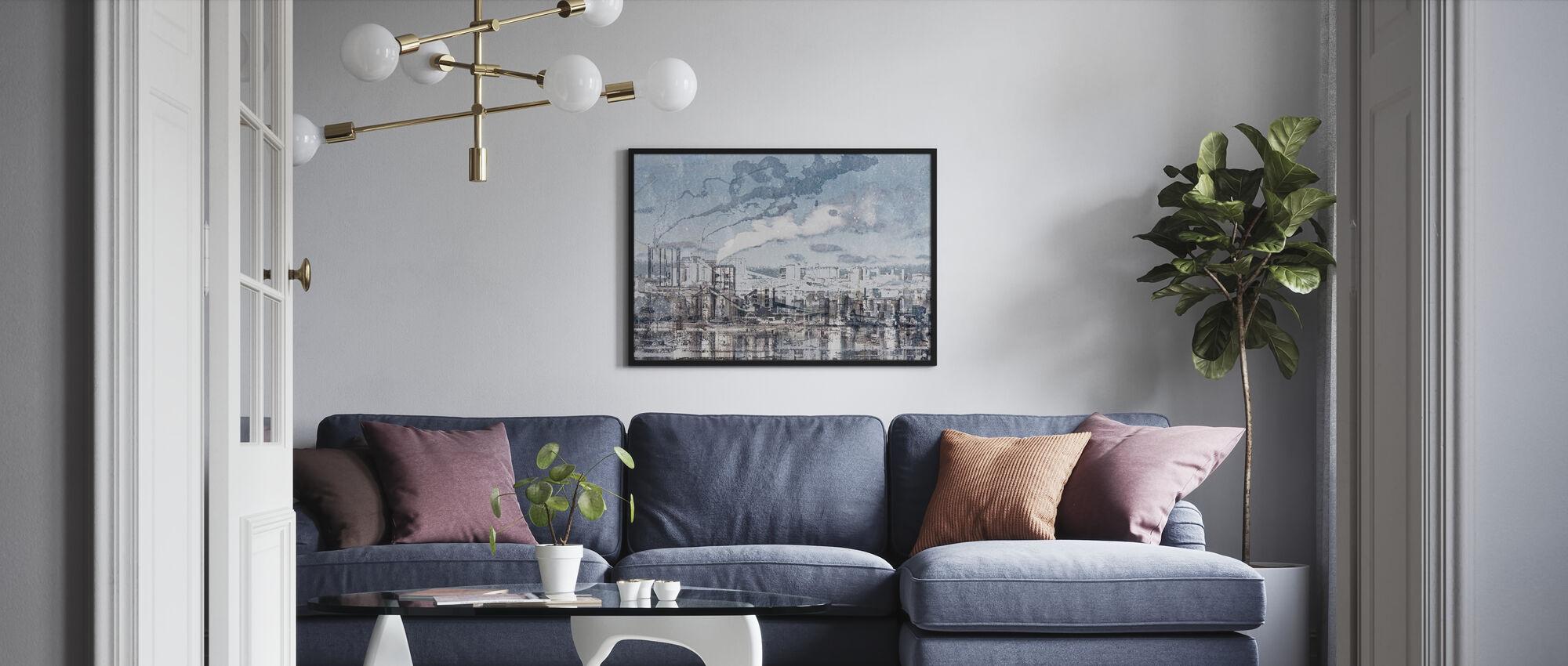 Industry - Framed print - Living Room