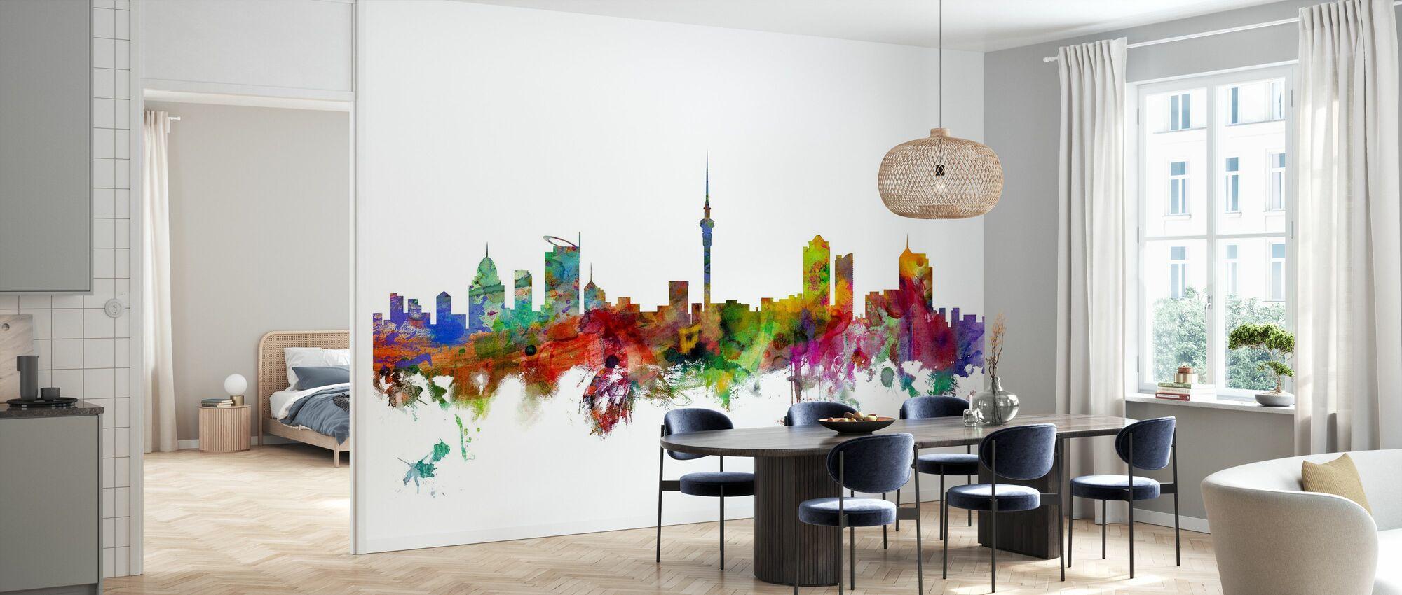 Auckland Skyline - Wallpaper - Kitchen